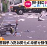 逆走でひき逃げの代償…東京・墨田区の水戸街道の事故現場特定!死亡1人重体1人